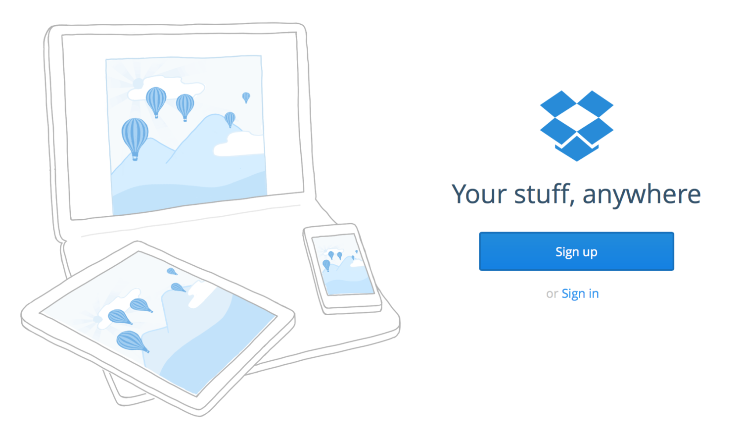 Dropbox - Technology That Makes Life More Simple   Inkwells & Images